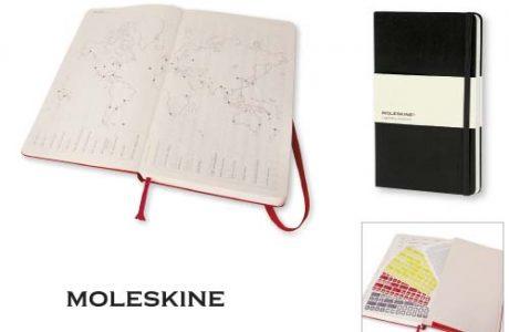 Agenda Moleskine grande giornaliera personalizzabile_interni