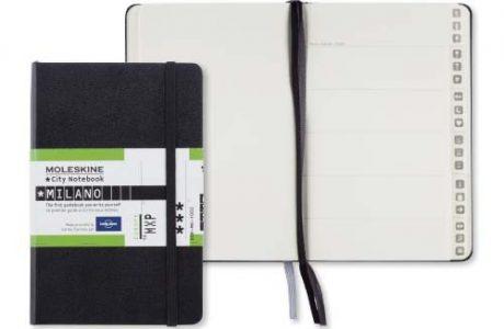 Moleskine City Notebook Milano personalizzabile
