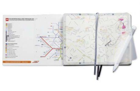 Moleskine City Notebook Milano peresonalizzabile visto dall'interno Interno