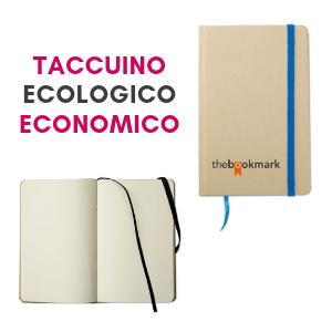 Taccuino personalizzato con logo economico