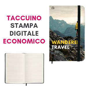 Taccuino personalizzato in digitale economico