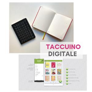 Taccuino digitale personalizzabile con logo