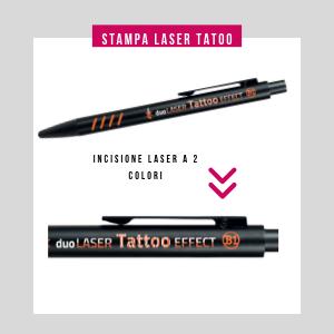penna personalizzata in metallo incisa