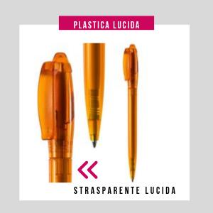 Penna personalizzata plastica lucida