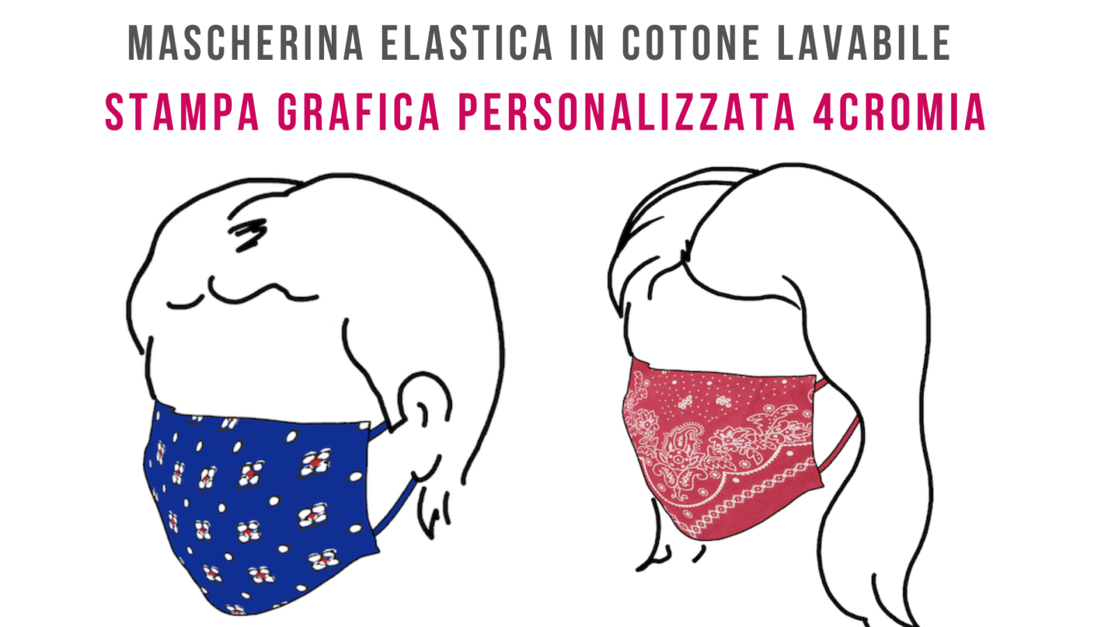 mascherine antivirus personalizzate in cotone lavabili
