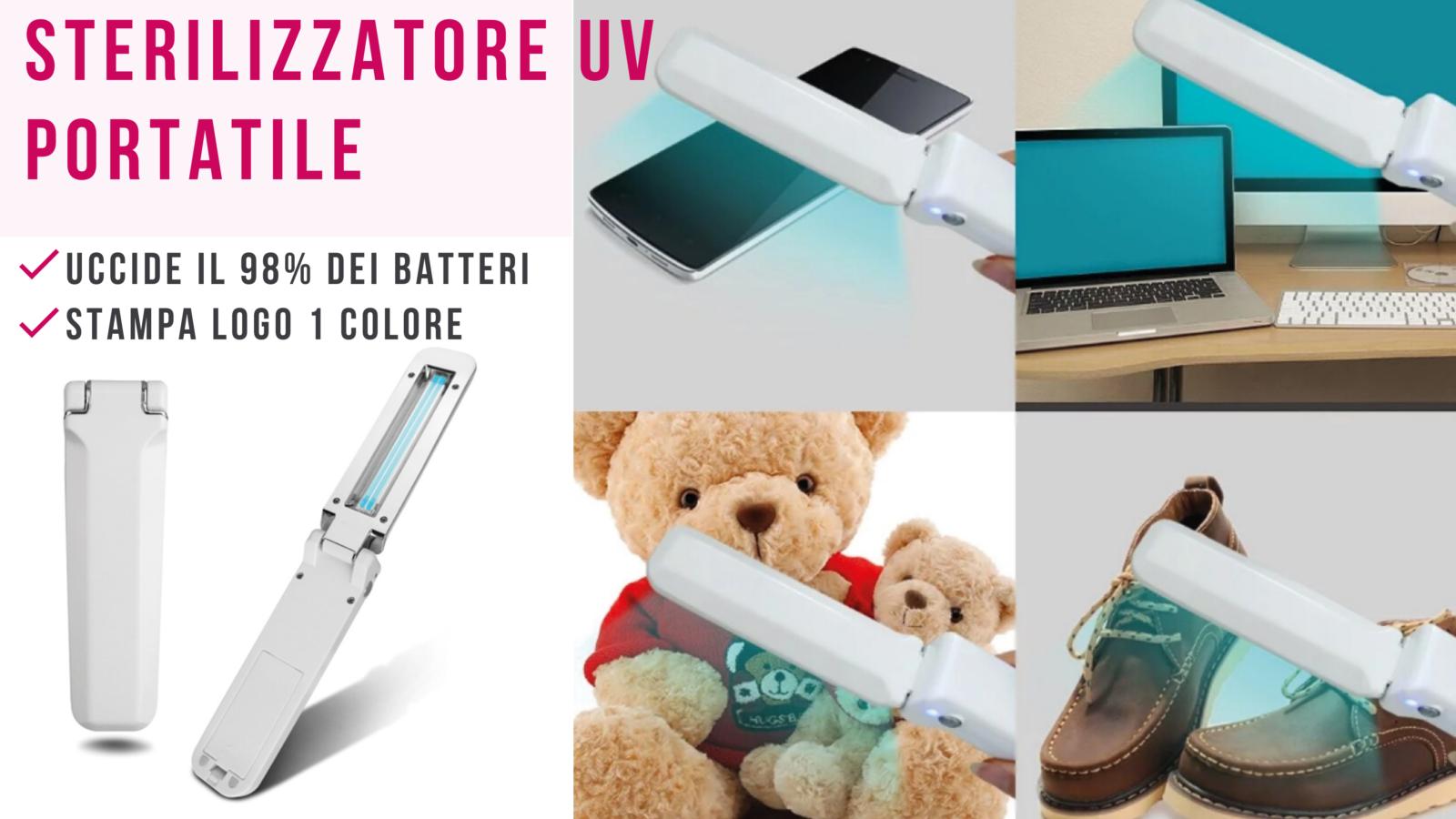 Sterilizzatore igenizzante portatile personalizzabile