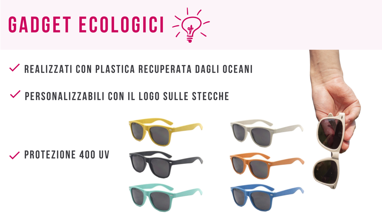 gadget eco friendly per aziende
