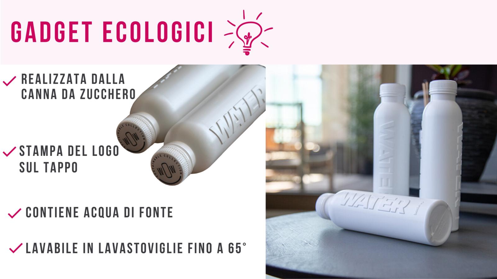 gadget eco friendly personalizzabili_ bottiglia in canna da zucchero