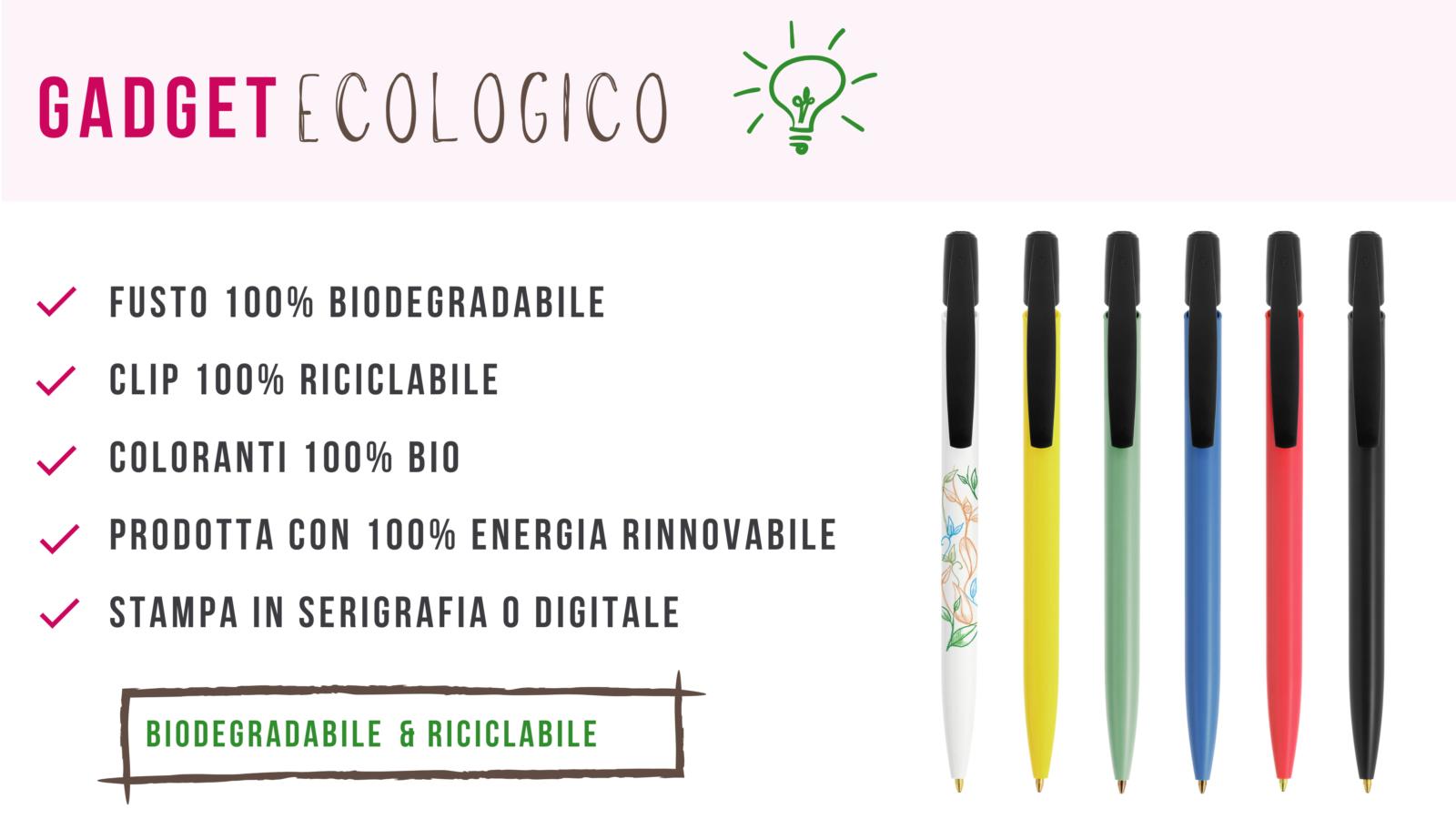 penna gadget green ecologica