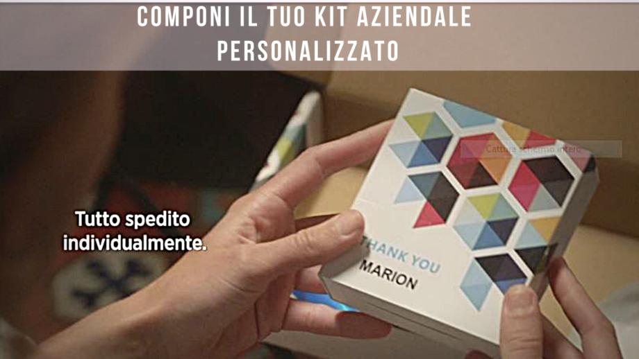 welcom kit aziendale personalizzato